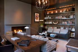 Hollywood Glamour Meets Modern Contemporary Home Office San Designs For Home Office