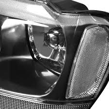 jeep grand cherokee blackout 04 jeep grand cherokee replacement crystal headlights black clear