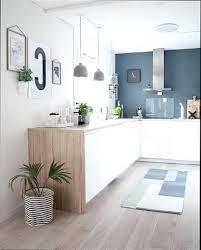 cuisine blanche et bois cuisine bois blanc cuisine blanche plan de travail bois inspirations