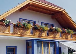 balkone holz holz classic strassburg leeb balkone und zäune