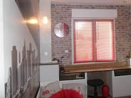 chambre ado style urbain décor literie drukowane