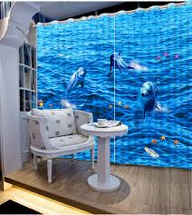 popular ocean curtains buy cheap ocean curtains lots from china