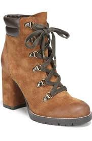 womens boots tu womens brown suede block heel lace up ankle boots tu clothing