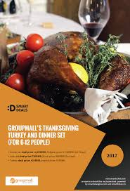 buy tickets for groupmall s thanksgiving turkey and dinner set