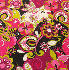 fabric sale fabric pink fabric flower fabric remnant curtain
