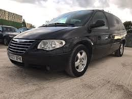 2007 chrysler grand voyager 2 8 crd executive xs 5dr 1 former