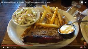 Cracker Barrel Menu Thanksgiving My Meatloaf Dinner At Cracker Barrel Food Reviews With A Twist