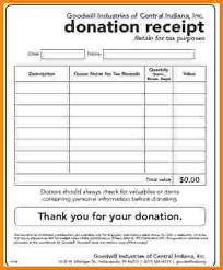 10 tax donation receipt restaurant receipt