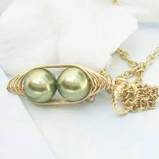 Two Peas In A Pod Jewelry Best Pearls In A Pod Necklace Products On Wanelo