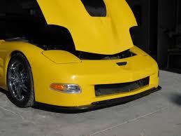 c5 corvette front spoiler carbon zr front lip corvette creationz