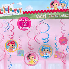 lalaloopsy party supplies lalaloopsy party supplies lalaloopsy value pack swirl decorations