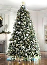 9ft tree pine artificial lit tree 9ft tree