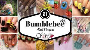 21 bumblebee nail designs cherrycherrybeauty
