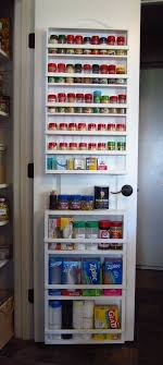 Spice Rack Cabinet Door Mount Declutter Your Kitchen With These Diy Projects Storage