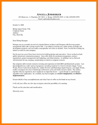 cover letter for architect choice sample resume skills section