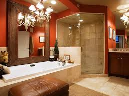 tile for a red and white bathroom charming home design