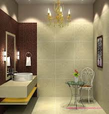 bathroom design beautiful small tub brown color toilet set tiles