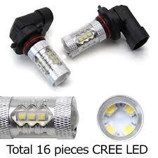 lexus es330 light bulbs amazon com ijdmtoy 2 xenon white 80w 9005 cree led high beam