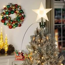 santa u0027s sleigh animated tree topper christmas store