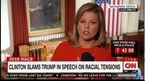 short hair female cnn anchor cnn controlled news network cuts off reporter after she calls