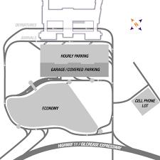 tulsa airport map economy parking tulsa international airport