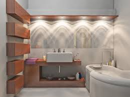 Bathroom Vanity Lighting Design Ideas Amazing Small Bathroom Solution With Light Tubes And Towel Bar