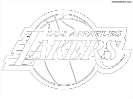 nba lakers coloring pages nba logos coloring pages coloring pages to download and print