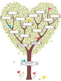 printable family tree template for