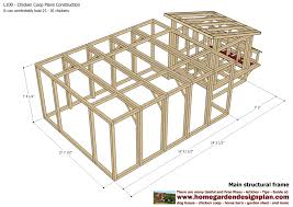 Frame A House by Chicken Coop Building Plan Book With How To Build A Simple Chicken