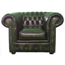 Leather Club Chair Decor Red Tufted Leather Club Chair For Home Furniture Ideas
