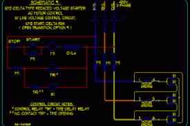 start stop motor control wiring diagrams motor start circuit