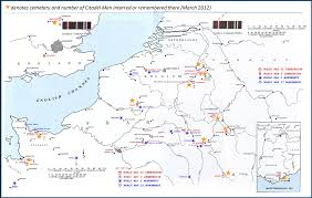 Map Western Europe by Map Of American Cemeteries And Battle Monuments In Western Europe