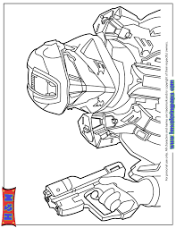 halo 4 spartan ops coloring u0026 coloring pages