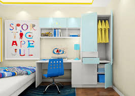 Childrens Bedroom Desks Picture Of Children Bedroom With Desk Combination 3d House