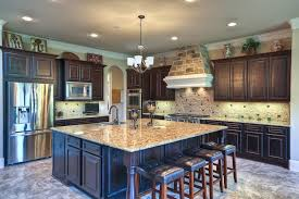 center kitchen island beautiful kitchen with large center island granite counters