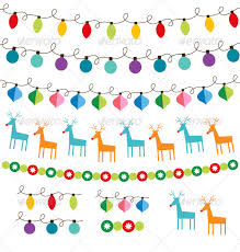christmas decoration vector set by lattesmile graphicriver