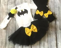 Batgirl Halloween Costume Accessories Newborn Batgirl Etsy