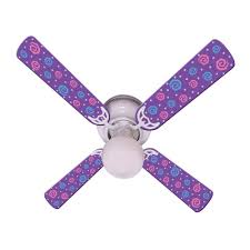 total fab ceiling fans with lights for little u0026 teen girls u0027 rooms
