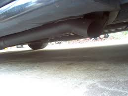 subaru dual exhaust third gen dual exhaust picture collection page 5 third