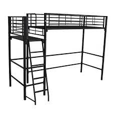 lit mezzanine noir avec bureau impressionnant lit mezzanine plateforme d coration clairage a noir