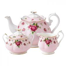 new country roses pink 3 tea set royal albert us