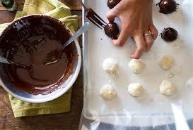 dark chocolate coconut bites recipe pinch of yum