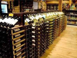 end cap wine racks retail wine displays commercial wineracks