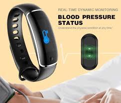 blood pressure wrist bracelet images Lynwo m4 health blood pressure band heart rate monitor wristband jpg