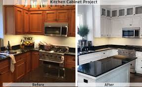 painting kitchen cabinets professionally cost professional kitchen cabinet painting from contractor in