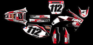 personalized motocross gear honda full kits nineonenine designs