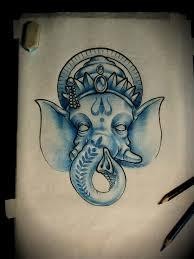 ganesh tattoo design by arturnakolet on deviantart