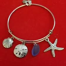 themed charm bracelet handmade jewelry silver seashore themed charm bracelet poshmark