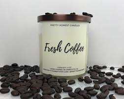 coffee bean candle coffee bean candle etsy