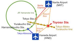 Narita Airport Map Digestive Disease Center Showa University Koto Toyosu Hospital